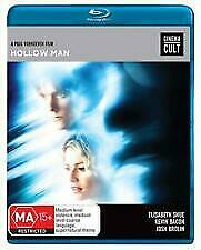 HOLLOW MAN BLU RAY - NEW & SEALED KEVIN BACON, PAUL VERHOEVEN FREE POST