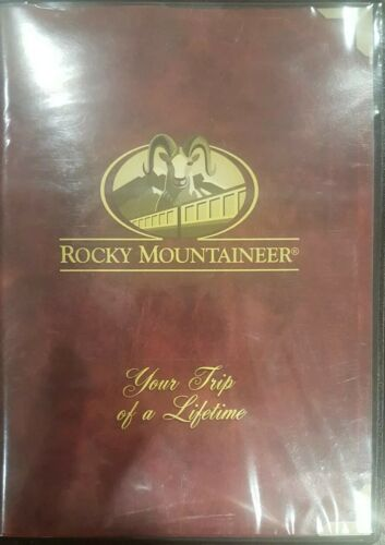 ROCKY MOUNTAINEER YOUR TRIP OF A LIFETIME DVD CANADIAN TRAIN RAIL DOCUMENTARY