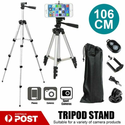 Professional Camera Tripod Stand Mount for Samsung 7 IPhone 106 CM Phone Holder