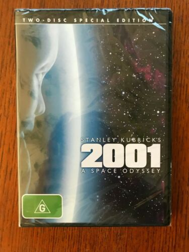 2001 A Space Odyssey DVD 2 Disc Special Edition Region 4 New & Sealed