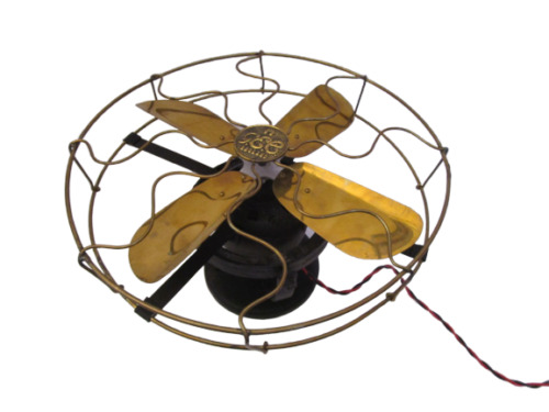 VINTAGE Style Marine Brass CEILING FAN – Best for Nautical Decor (205)
