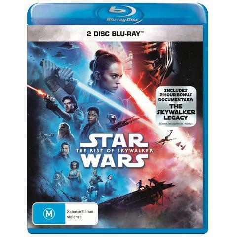 STAR WARS THE RISE OF SKYWALKER BLU-RAY, 2 DISC, BRAND NEW, PRIORITY POST.