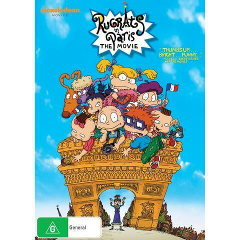 RUGRATS IN PARIS THE MOVIE DVD, NEW & SEALED,  FREE POST.