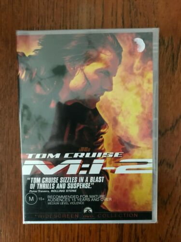 M:I:II - Mission Impossible 2 DVD Region 4 New & Sealed
