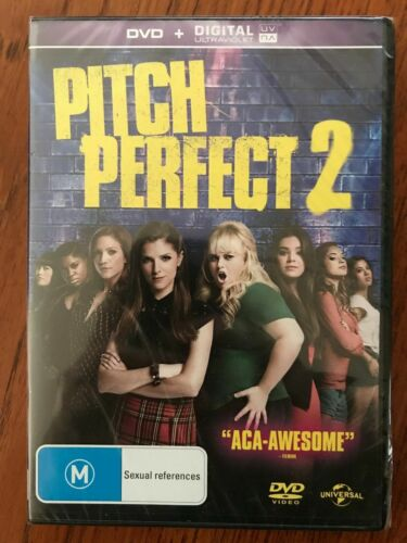 Pitch Perfect 2 DVD New & Sealed Region 4