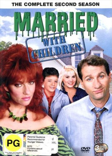 MARRIED WITH CHILDREN - THE COMPLETE SECOND SEASON (REGION 4, 3 DISC SET)