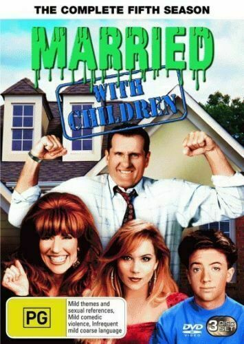 MARRIED WITH CHILDREN - THE COMPLETE FIFTH SEASON (REGION 4, 3 DISC DVD SET)