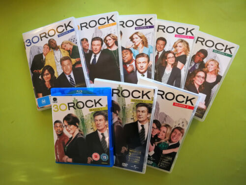 30 Rock The Complete Series OR Season 1, 2 , 3, 4, 5 OR 6 (Blu-ray OR DVD Sets)