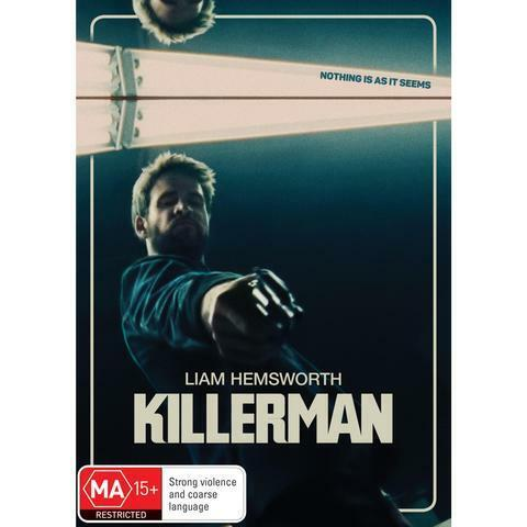 KILLERMAN WITH LIAM HEMSWORTH DVD, NEW & SEALED, 2020 RELEASE, FREE POST