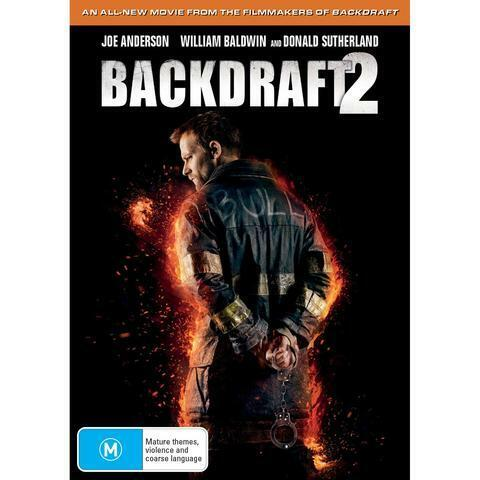 BACKDRAFT 2 DVD, NEW & SEALED, 2019 RELEASE, FREE POST