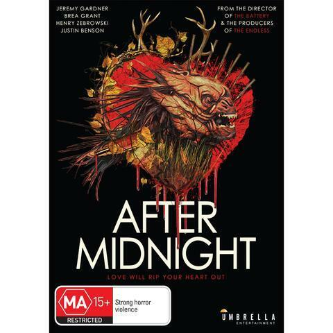 AFTER MIDNIGHT DVD, NEW & SEALED, 2020 RELEASE, FREE POST