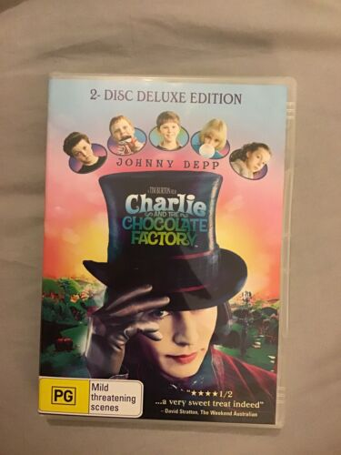 Charlie And The Chocolate Factory 2 Disc Deluxe Edition Dvd