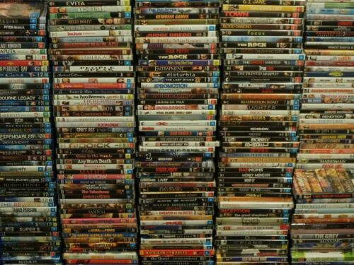 DVD Bulk Lot ACCEPTABLE CONDITION Choose Your Title Most Discs $3.99 Free Post