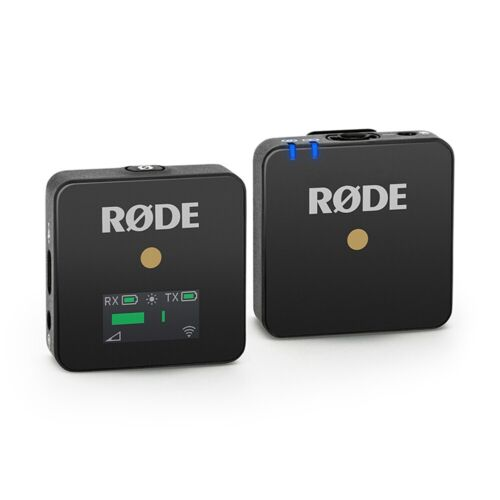 Rode Wireless GO Compact Wireless Microphone System (WIGO) <br/> Get 15% off* with code PTETE15, Ends 03/12, T&Cs Apply.