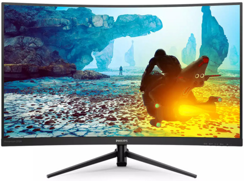 """Philips 272M8CZ 27"""" FHD 165Hz Curved FreeSync Gaming Monitor 1ms HDR HDMI DP"""