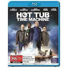 HOT TUB TIME MACHINE BLU RAY - NEW & SEALED JOHN CUSACK, CHEVY CHASE FREE POST