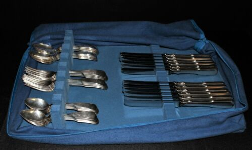 1979 Towle Sterling Silver MDCXC 1690 Service for 12 Flatware, 48 Piece Set