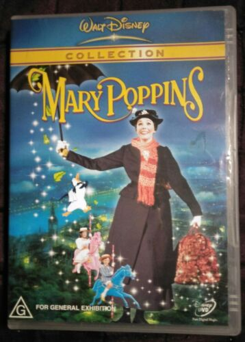 Mary Poppins DVD R4 Very Good Condition