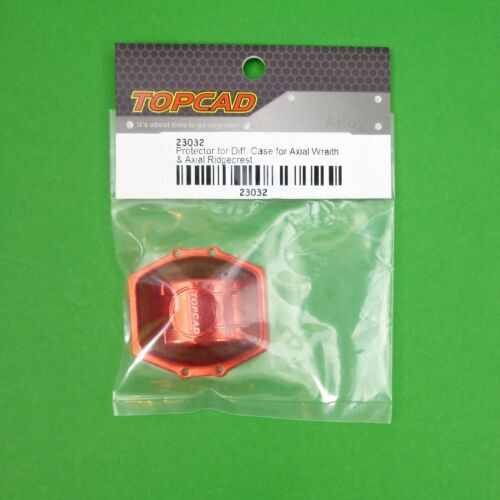 Protector for Diff case to suit Axial Wraith.1:10 RC -RED colour.
