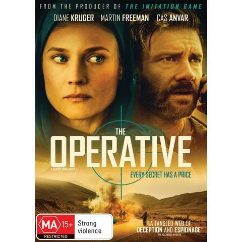 THE OPERATIVE DVD, NEW & SEALED, 2020 RELEASE. FREE POST