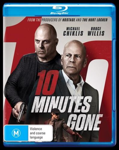 10 MINUTES GONE BLU-RAY, NEW & SEALED, 2019 RELEASE, FREE POST