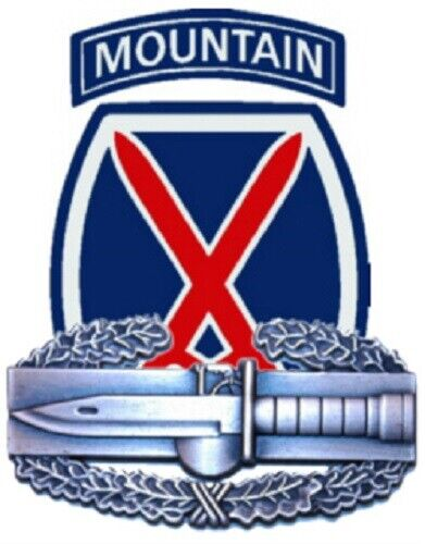 Address Labels - 10th  Mountain Division  w/CABOther Militaria - 135