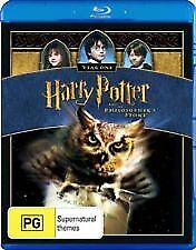 HARRY POTTER AND THE PHILOSOPHER'S STONE BLU RAY - NEW & SEALED FREE POST