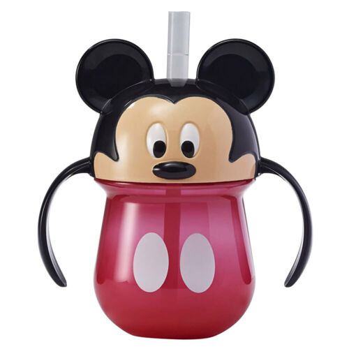 1pc The First Years Straw Trainer Drinking 207ml Cup Baby/Toddler 9m+ Mickey