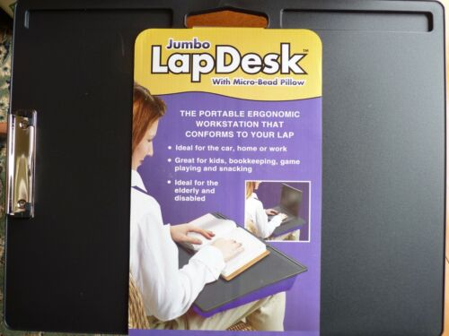 LAPTOP PORTABLE  LAPDESK LARGE WITH MICRO BEAD PILLOW