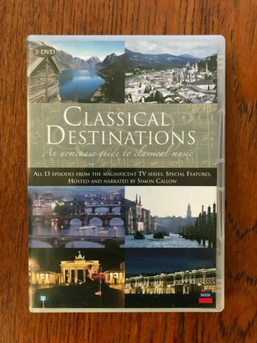 CLASSICAL DESTINATIONS: AN ARMCHAIR GUIDE TO CLASSICAL MUSIC DVD R 4 LIKE NEW