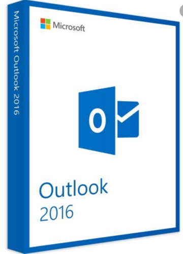 Microsoft Windows Outlook 2016 Retail For 1 PC Only
