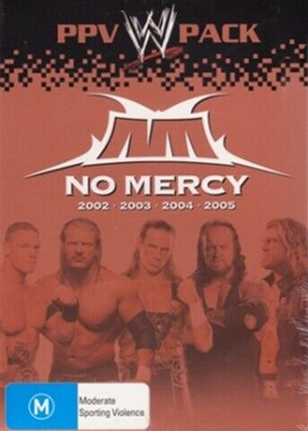 WWE - No Mercy Collection (2002 - 2005) (DVD, 4-Disc Set) BRAND NEW SEALED