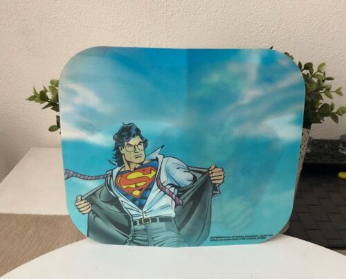 Superman Mouse Pad DC Comics Vintage 1996 Mousepad Collectable Used