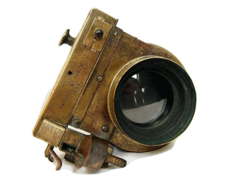 RARE 10 INCH f8 Brass Lens & Shutter with Istantaneous & Timed slow speeds  1893
