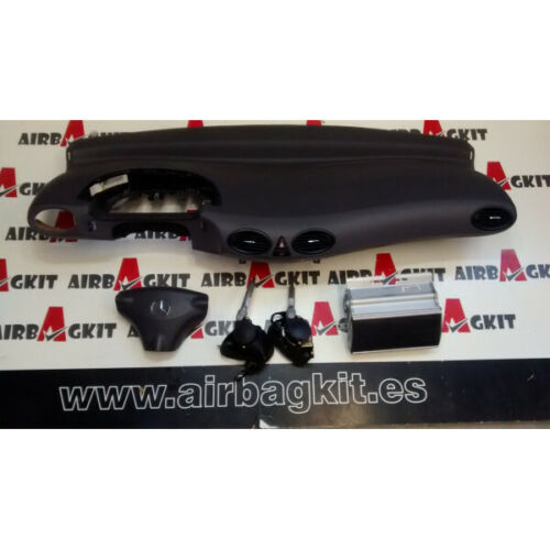 MERCEDES CLASE A W168 1997-2004 Nº1 KIT AIRBAGS COMPLETO MERCEDES-BENZ CLASE A