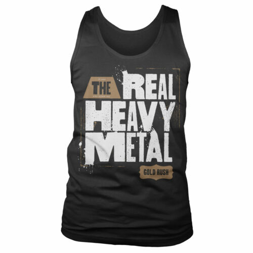 Officially Licensed Gold Rush - Real Heavy Metal Tank Top Vest S-XXL Sizes