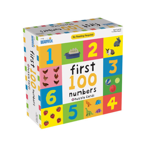 First 100 Numbers Puzzle Card Kids/Toddler Educational/Learning Game 2y+