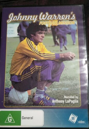 Johnny Warren's Football Mission DVD 2006 Good Condition Free Shipping