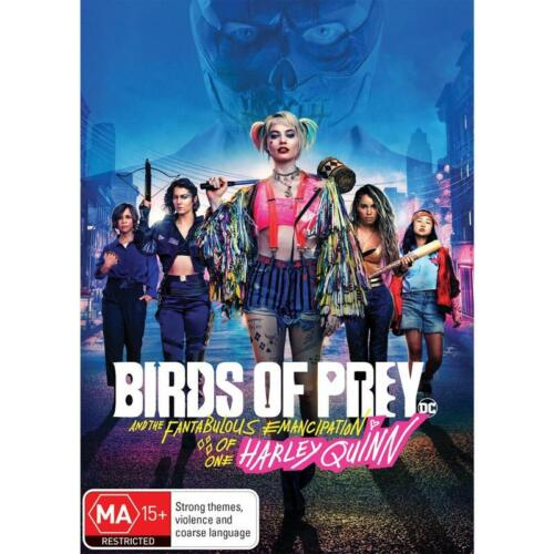 BIRDS OF PREY DVD, NEW & SEALED **NEW RELEASE ** FREE POST,