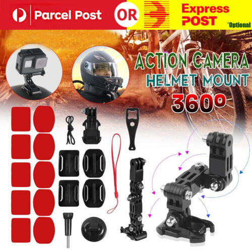Motorcycle Helmet Chin Mount Holder For GoPro Hero7/6/5/4 XiaoYi Action Camera