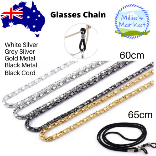 Sunglasses Reading Glasses Chain Strap Spectacle Holder String Neck Cord