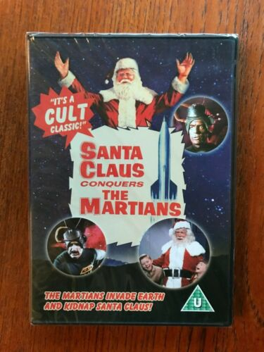 Santa Claus Conquers The Martians DVD Region All New & Sealed