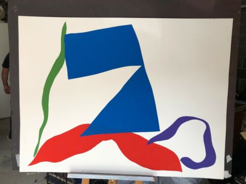 Ray Parker print signed ed 70