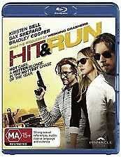HIT AND RUN BLU RAY - NEW & SEALED KRISTEN BELL, BRADLEY COOPER FREE POST