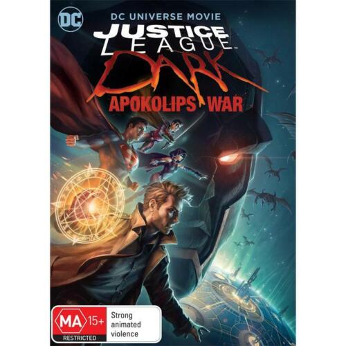 JUSTICE LEAGUE DARK - APOKOLIPS WAR  DVD, NEW & SEALED * NEW RELEASE * FREE POST