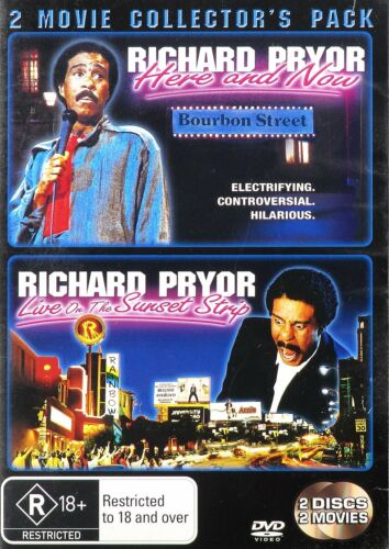 Richard Pryor: Collectors Pack (2DVD, PAL, 4)