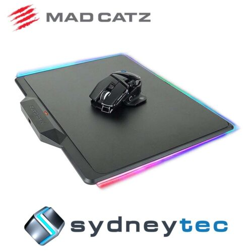 New Mad Catz R.A.T. AIR Wireless Gaming Mouse with Illuminated Mouse Mat