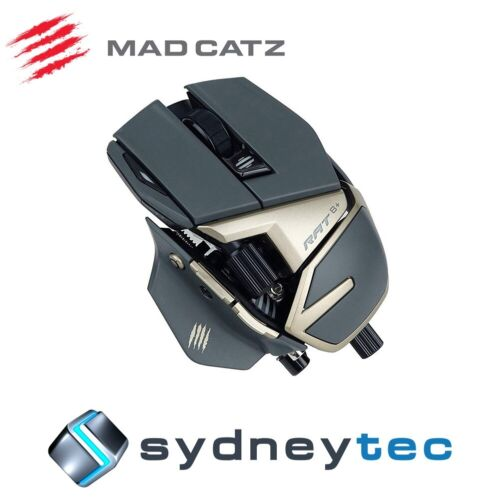 New Mad Catz R.A.T. 8+ Gaming Mouse - 30 Years Edition