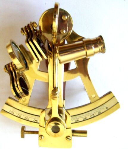Nautical Working Instrument Astrolabe 4 inche Brass Sextant Ships Maritime Gift