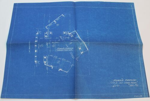 IT'S IN THE BAG! / 1944 MOVIE SET DESIGN CONCEPT BLUEPRINT, Comedy Film